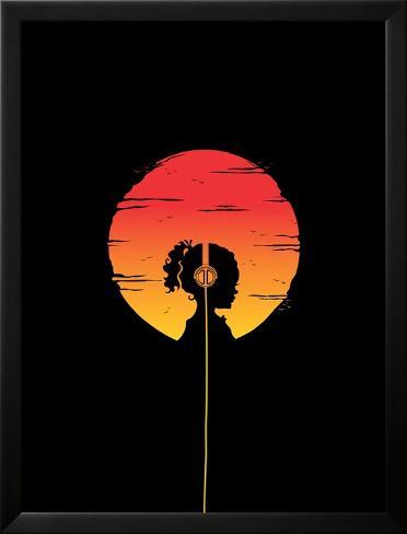 Music of the Earth Lamina Framed Poster