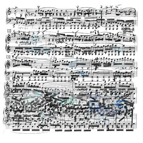 Music Sheet II Art Print