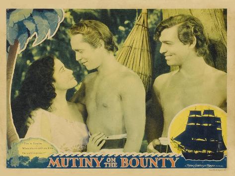 Mutiny on the Bounty, 1935 Art Print
