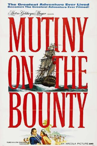 Mutiny On the Bounty, 1962, Directed by Lewis Milestone Giclee Print