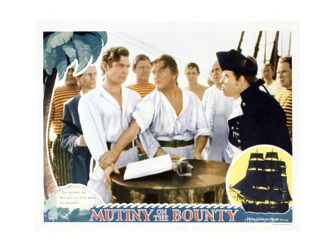 Mutiny on the Bounty Art Print