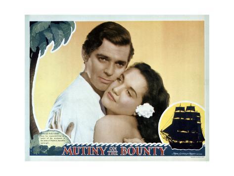 Mutiny on the Bounty Art Print