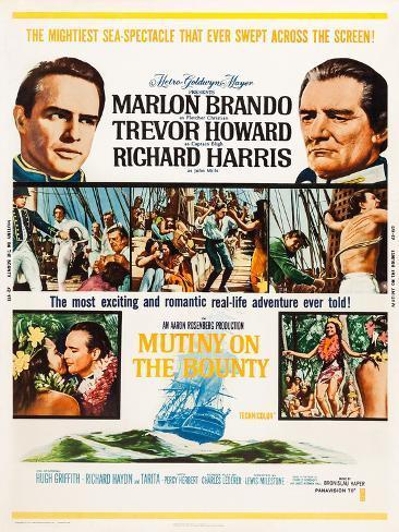 Mutiny on the Bounty Impressão artística