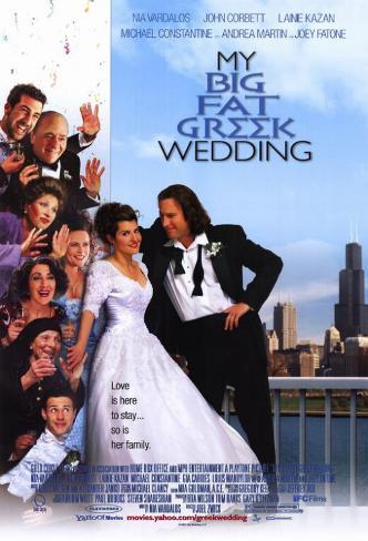 My Big Fat Greek Wedding Masterprint