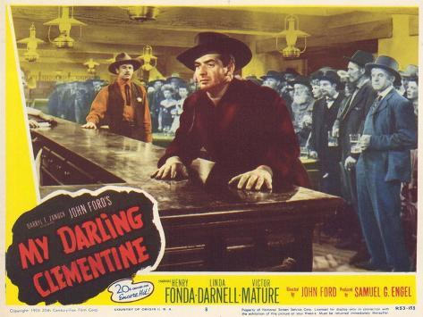 My Darling Clementine, 1946 Art Print