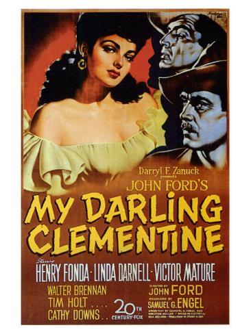 My Darling Clementine, 1946 Art Print