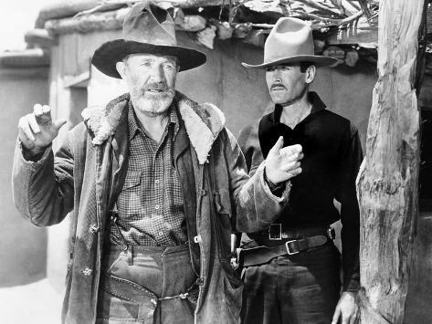 My Darling Clementine, Walter Brennan, Henry Fonda, 1946 Photo
