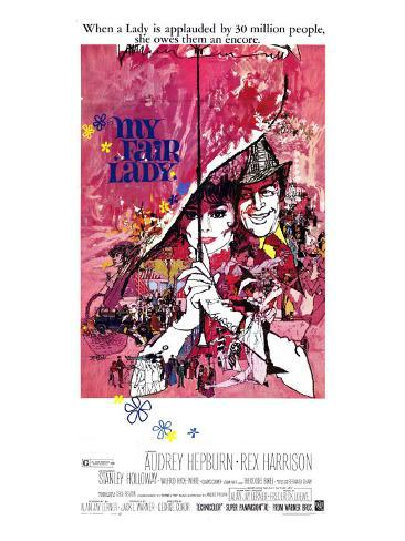 My Fair Lady, 1964 Stretched Canvas Print