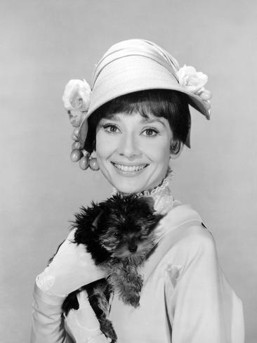 My Fair Lady, Audrey Hepburn, 1964 写真