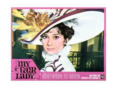 My Fair Lady, Audrey Hepburn, 1964 Art Print