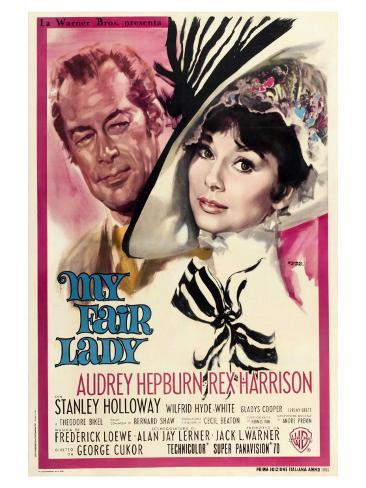 Image result for my fair lady movie poster