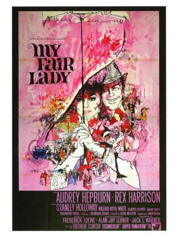 My Fair Lady, Italian Movie Poster, 1964 アートプリント