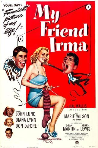 My Friend Irma Lámina