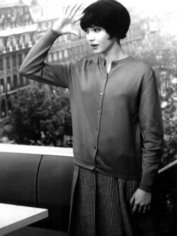 My Life to Live, (AKA Vivre Sa Vie), Anna Karina, 1962 Fotografía