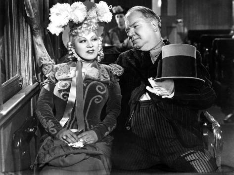 My Little Chickadee, Mae West, W.C. Fields, 1940 Foto
