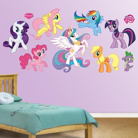 My Little Pony Collection Wall Decal