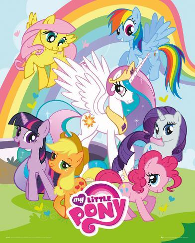 My Little Pony - Group Mini Poster