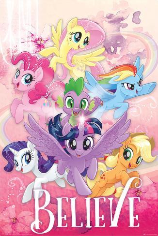 My Little Pony Movie - Believe Poster