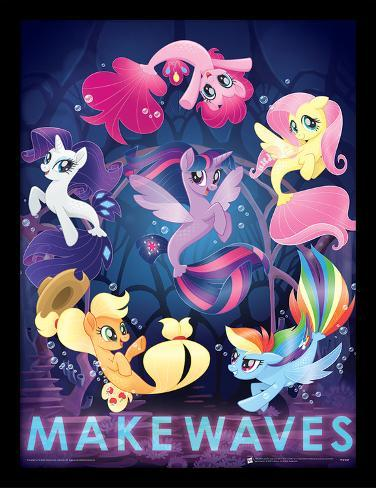 My Little Pony Movie - Make Waves Collector Print