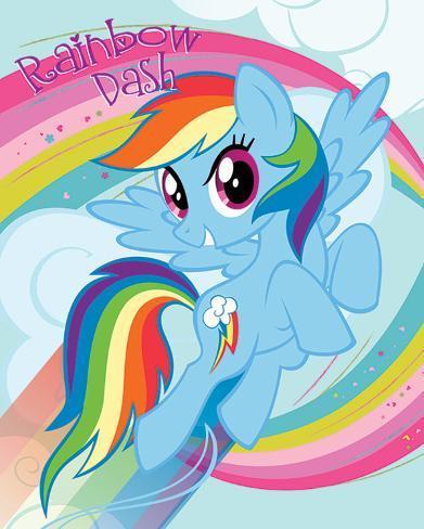 My Little Pony- Rainbow Dash Mini Poster