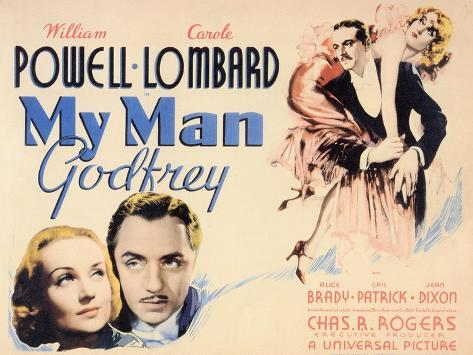 My Man Godfrey, 1936 Premium Giclee Print