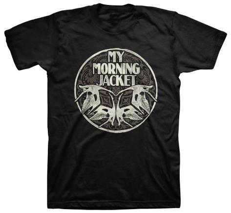 My Morning Jacket - Swan Circle (slim fit) T-Shirt
