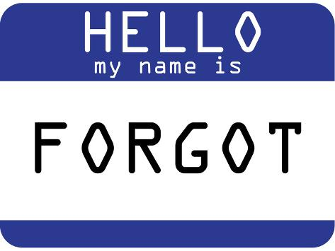 my name is forgot posters at allposters com