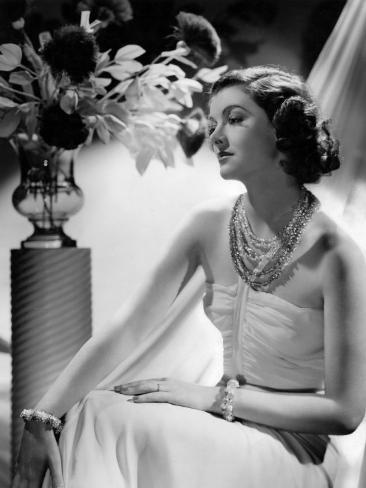 Myrna Loy, 1938 Photo