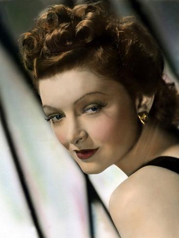 Myrna Loy, 1940s Photo