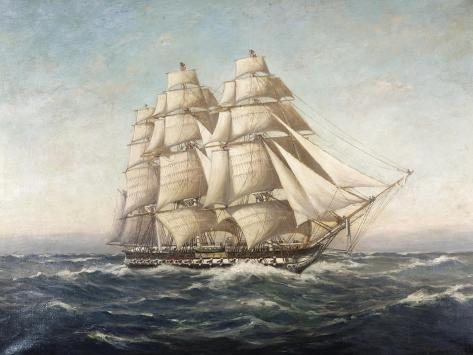 Uss Constitution Giclee Print