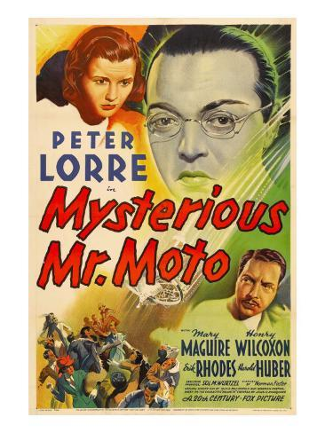 Mysterious Mr. Moto, Mary Maguire, Peter Lorre, Leon Ames, 1938 Fotografía