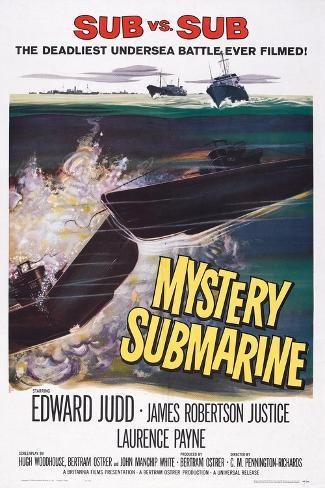 Mystery Submarine 1963 Art Print