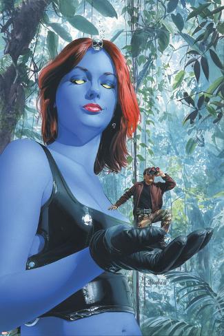 Mystique No.17 Cover: Mystique Poster