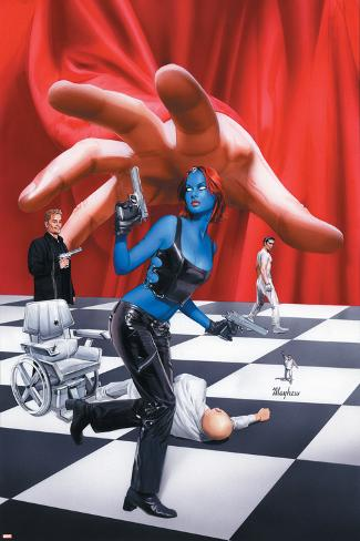 Mystique No.21 Cover: Mystique Poster