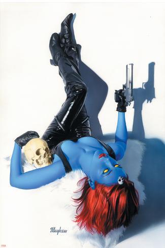 Mystique No.9 Cover: Mystique Poster