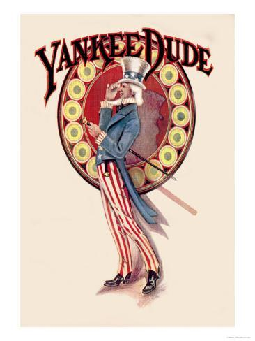 Yankee Dude Art Print