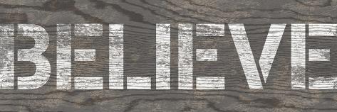 Believe Premium Giclee Print