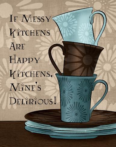 In the Kitchen I Art Print