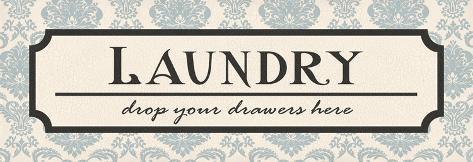 Laundry Drawers Art Print
