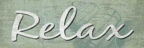 Relax Premium Giclee Print