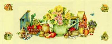 Life in the Garden III Art Print