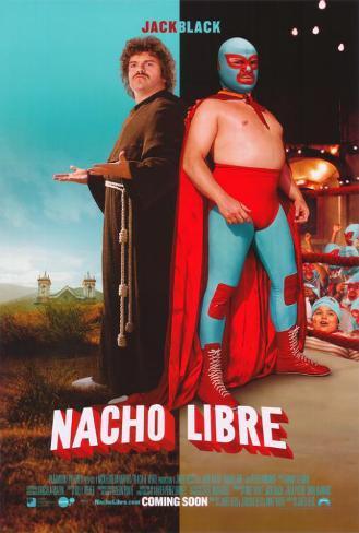 Nacho libero|Nacho Libre Stampa master