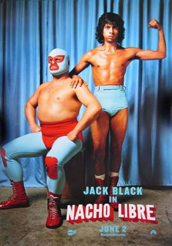 Nacho Libre Double-sided poster