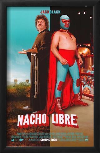 Nacho Libre Framed Art Print
