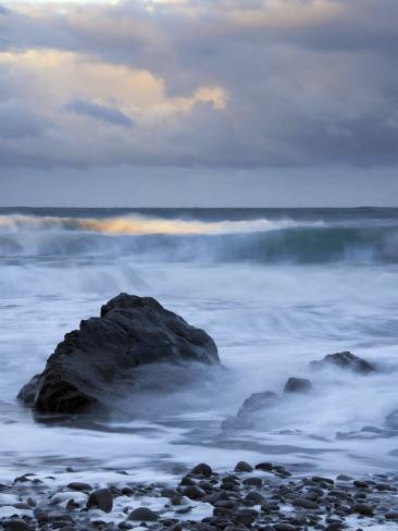 Early Morning at Widemouth Bay, Cornwall, UK Photographic Print