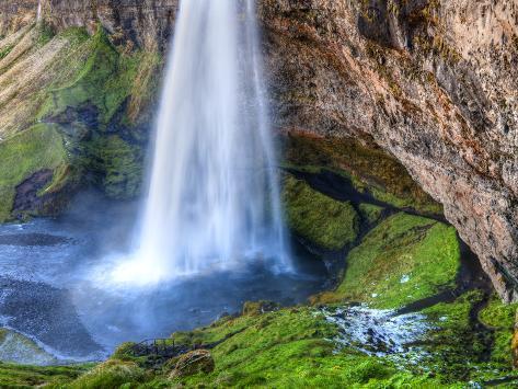 Seljalandsfoss Waterfall, Iceland Photographic Print