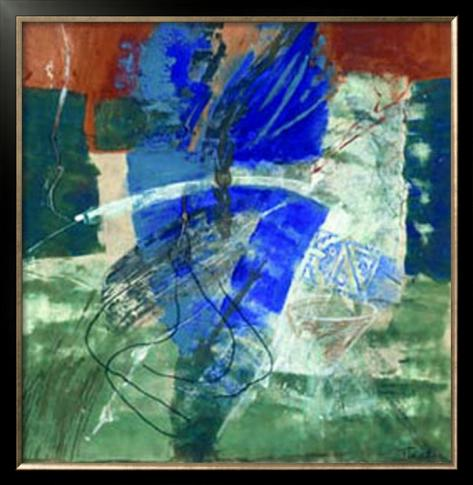 Resurgence de la Couleur, c.2002 Framed Art Print