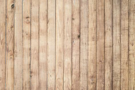 Light Brown Wood Background Photographic Print By Naihei At