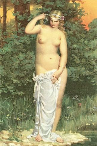 Naked Blonde by Pond Premium Giclee Print