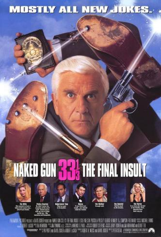Naked Gun 33 1/3: The Final Insult Masterprint